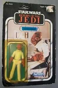1983 Kenner Star Wars Admiral Ackbar figure, unopened