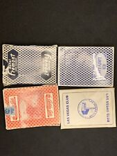 Lot Of 4 Casino Playing Cards