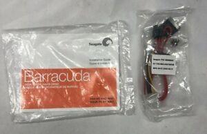 Barracuda Seagate 100398942 90ZLASAT0023B PC Hard Drive Data Cables w/ CD Guide