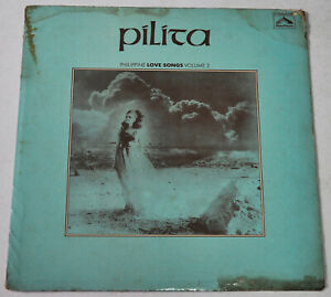PILITA CORRALES Philippine Love Songs Volume II OPM LP Record