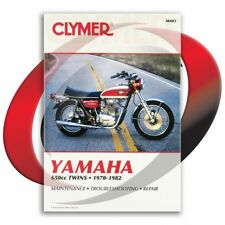 1975-1982 Yamaha XS650 Repair Manual Clymer M403 Service Shop Garage