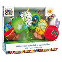 THE VERY HUNGRY CATERPILLAR ACTIVITY TOY - 2 DESIGNS Soft Toy Pushchair Toy