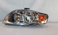 TYC 20-6936-00-1 Left Side Halogen Headlight for Audi A4 S4 2005-2008 Models