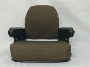 BROWN FABRIC SEAT ASSEMBLY TOPPER JOHN DEERE 4030,4230,4430,4630,8430,8630 #SS