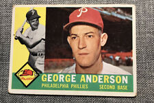 """New listing George """"Sparky"""" Anderson 1960 Topps Card"""