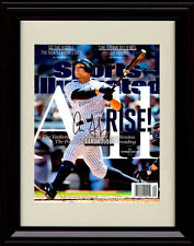 Framed Aaron Judge SI Autograph Replica Print - MVP and RoY Yankees