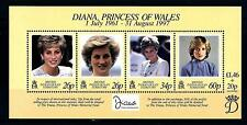 BIOT - BRITISH INDIAN OCEAN TERRITORY - BF - 1998 - Omaggio alla Princip. Diana