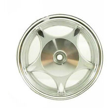 Silver 10 x 2.15 Rear Drum Rim (5-spoke ) for GY6 50cc Moped scooter