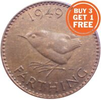 FARTHING GEORGE VI COIN CHOICE OF YEAR 1937 TO 1952