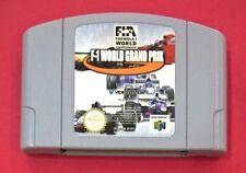 F-1 World Grand Prix - N64 -  Nintendo 64 - USADO - BUEN ESTADO