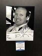 A.J. Foyt autographed signed 8x10 photo Beckett BAS COA NASCAR Legend Racing Car