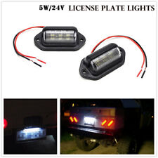 License Plate Lamp Waterproof 6500K License Plate Truck Trailer LED Light Lamp