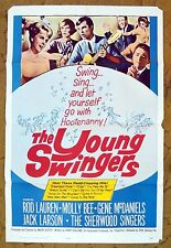 THE YOUNG SWINGERS Teen musical and Comedy Romance film poster Molly Bee