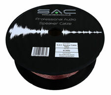 SAC 16 Strand HIGH QUALITY Speaker Cable 100m DRUM Car, Home, Audio, Hi-Fi