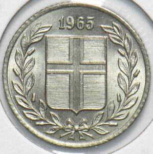 Iceland 1965 25 Aurar 192387 combine shipping