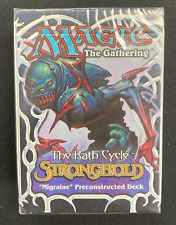 MTG Stronghold Preconstructed Deck - Migraine *Factory Sealed* MTG