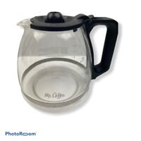 Mr. Coffee Replacement Coffeemaker Glass Pot Carafe 12-Cup Black