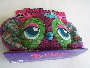 Pink Owl Plush Boho ZOOBLES HOOPER PLUSH ZOOBLE NEW  Christmas Gift Pet Cyber