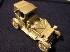 Modell Auto Lanchester HP-1908 aus Zinn.Danbury Mint 1/60.Zinnmodell USA Pewter
