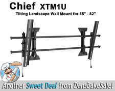 "Chief Fusion Series XTM1U Tilting Landscape Wall Mount for  55"" to 82"" Displays"