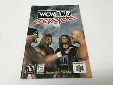 WCW NWO Revenge  - Nintendo 64 N64 - Instruction Manual Only booklet