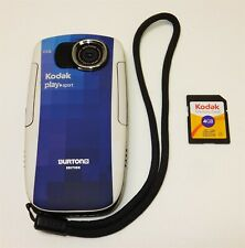 Kodak Play Sport Zx5 Burton Edition DIS Waterproof Full HD 5MP Camcorder Bundle