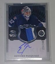 EDWARD PASQUALE 13-14 THE CUP PRIME AUTO 3 COLOR JERSEY PATCH /249 RC RPA JETS
