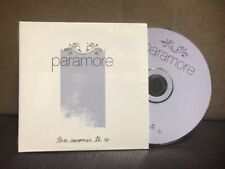Paramore - Summer Tic Ep - Very Rare Like New Condition In Shrink HTF