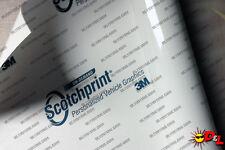 """3M Scotchprint Gloss White Wrap Film 12""""x24"""" 2sq ft."""