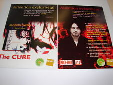 THE CURE BLOODFLOWERS ADVANCE LISTENING!!!!RARE FRENCH FYER