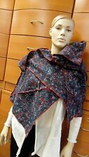 SCARF FELTED WRAP MADE IN EUROPE UNIQUE FELTED WOOL MARBLE SHAWL HOLIDAY GIFT