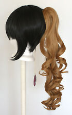 23'' Curly Pony Tail Clip Hazelnut Brown Cosplay Wig Clip Only NEW