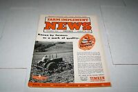 JAN 10 1951 FARM IMPLEMENT NEWS farming magazine ( nice ads )