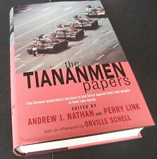 The Tiananmen Papers.Andrew Nathan, Ed. 2001. Chinese history. China. Book