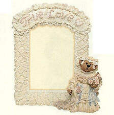 Boyd's Bearstones BAILEY TRUE LOVE Wedding Photo Frame -