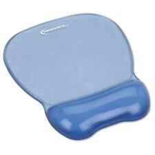 "Innovera Gel Mouse Pad And Wrist Rest - 1.1"" X 8.3"" X 9.6"" - Blue - Gel, (51430)"