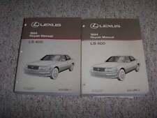 1994 Lexus LS400 LS 400 Factory Original Shop Service Repair Manual 4.0L V8
