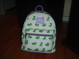 LOUNGEFLY DISNEY PASCAL POSES MINI BACKPACK~ WITH TAGS~ NEW~ TANGLED~
