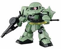 "Bandai Hobby Super Deformed (SD)#04 Cross Silhouette Zaku II ""Mobile Suit Gundam"