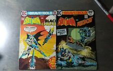 BRAVE AND THE BOLD #107,110-2 BOOK LOTDC Comics SOLID COPIES!