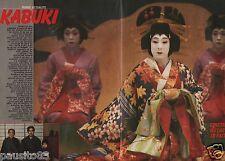 Coupure de presse Clipping 9999 Kankuro maître du Kabuki  (4 pages)