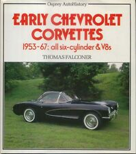 Chevrolet Corvettes 1953-67 all 6 cyl & V8s incl. Sting Ray, VIN numbers + Specs