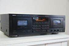 Yamaha KX-W592 DoubleCassette Deck, tapedeck TOP, neue riemen, HIGH-END