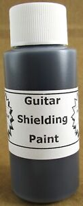 Military Grade Conductive Shielding Paint for Strat, Tele, Style Guitar / Bass