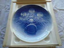 Vintage Bing and Grondahl Jule Aften 1895-1980 Christmas Plate Original Box