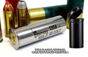 12GA to 45 COLT & 454 Casull Shotgun Adapter - Stainless - Free Case & Shipping!