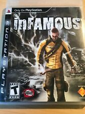 inFamous PS3 (Sony PlayStation 3) With Manual