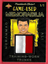 2020 Muhammad Ali President's Choice Solitaire 1/1 Game Used Relic Trunks