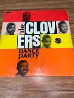 "The Clovers Dance Party 12"" 33rpm ATLANTIC Rare Vinyl"