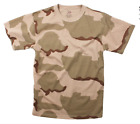 KIDS Rothco Camo Tactical T-Shirt Military Army Camouflage Short Sleeve
